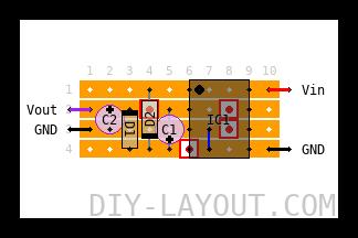 Voltage doubler (9 to 18v)