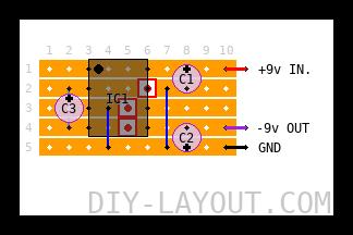 Voltage inverter (+9v to -9v)
